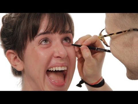 Guys Doing Their Girlfriends' Makeup - It's Not So Easy, Is It Dudes?