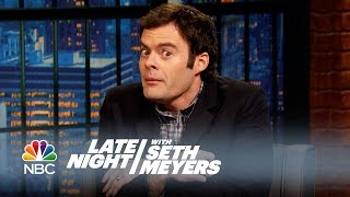 "Video Bill Hader Got ""Stoned"" in Amsterdam with the Cast of Trainwreck - Late Night with Seth Meyers MP3, 3GP, MP4, WEBM, AVI, FLV Desember 2018"