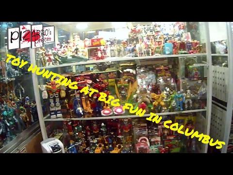 Pizarro's Pieces Toy Hunting In Columbus, Ohio - Big Fun Toy Shop