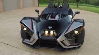 4. West TN 2017 Polaris Slingshot SLR used for sale black see www sunsetmotors com sl