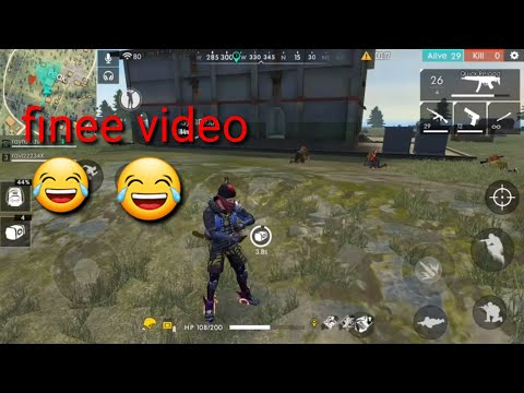 Free fire game play # (finee video)😂😂😂😂😂 👌👌👌