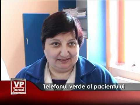 Telefonul verde al pacientului