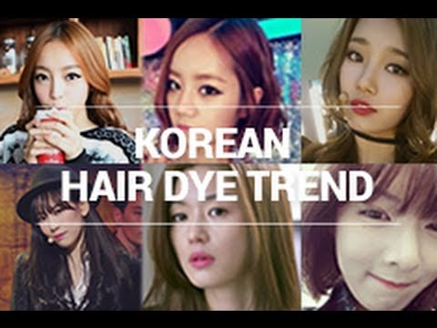 Korean Hair Dye Trend & Self Hair Dying Tips