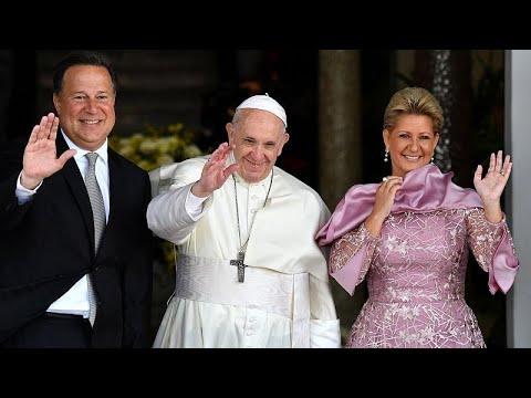 Στον Παναμά ο Πάπας Φραγκίσκος