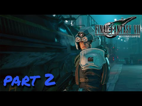ESCAPE FROM THE CITY Final Fantasy VII Remake Part 2 PS4 Pro