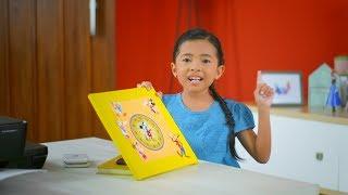 Video DIY Challenge from Niana Guerrero - Make Mickey Mouse clock from Disney character MP3, 3GP, MP4, WEBM, AVI, FLV Juli 2018