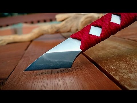 Watch a japanese Kiridashi being made using only COMMON HAND TOOLS
