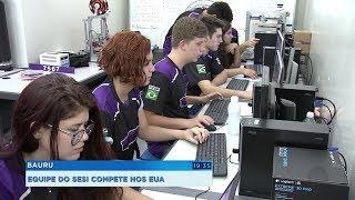 Estudantes de Bauru vão representar o Brasil em competição internacional de robótica
