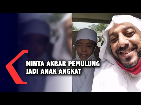 Syekh Ali Jaber Minta Akbar Pemulung Jadi Anak Angkat