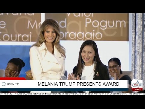 Full Speech: Melania Trump Presents International Women of Courage Award