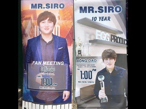 [Trực tiếp] Offline Fans Mr. Siro 10/9 - Phòng trà Đồng Dao - Thời lượng: 2 giờ, 42 phút.