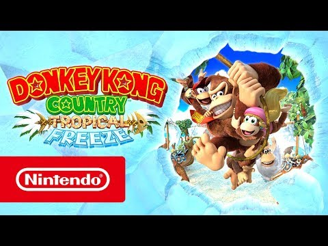 Trailer de lancement de Donkey Kong Country : Tropical Freeze