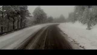Navacerrada Spain  city images : snow Navacerrada GoPro Hero 3 Madrid EXtremeprovideo video revolution test Spain