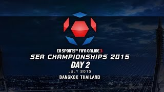 SEA Championships 2015 Thailand DAY 2, fifa online 3, fo3, video fifa online 3