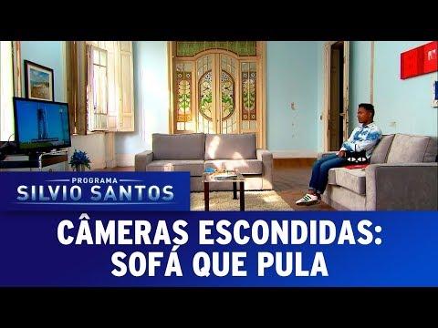 Sofá que Pula - Nasa Couch Prank | Câmeras Escondidas (12/11/17)_A valaha feltöltött legjobb űrhajó videók