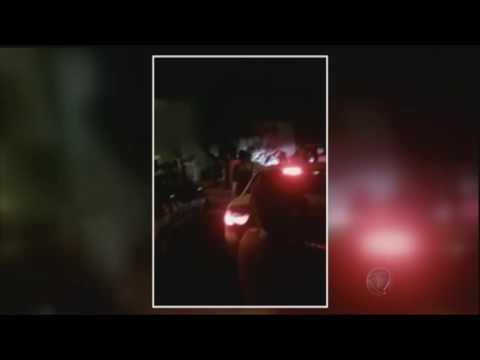 Vinte criminosos explodem caixas eletrônicos na cidade de Santa Terezinha, em Goiás