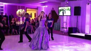 Video Amazing Father Daughter Bat Mitzvah Dance  - Old School vs New School line dance! MP3, 3GP, MP4, WEBM, AVI, FLV Agustus 2018