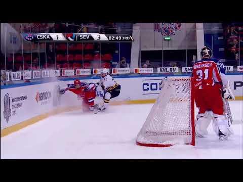 17/18 KHL Top 10 Goals for Week 24 (видео)