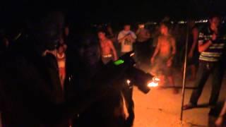 Fire Show Koh Samet Thailand