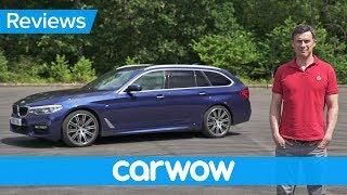 Video BMW 5 Series Touring 2018 in-depth review | Mat Watson Reviews MP3, 3GP, MP4, WEBM, AVI, FLV Agustus 2017