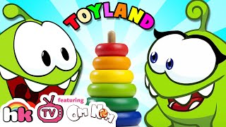 Video VALENTINE'S SPECIAL | Om Nom & Om Nelle go to Toyland | Funny Cartoons for Children | HooplaKidzTV MP3, 3GP, MP4, WEBM, AVI, FLV September 2018