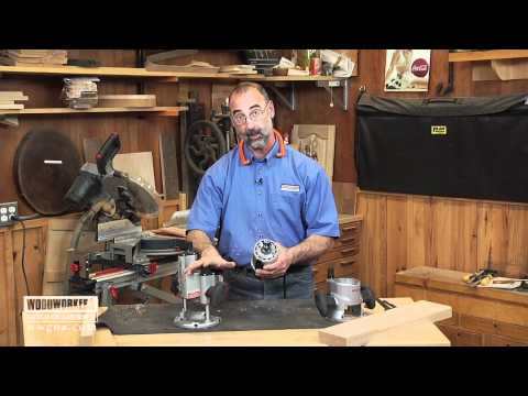 routers - Wood Tips: Router - George Vondriska demonstrates the difference between plunge and fixed based routers. A WoodWorkers Guild of America (WWGOA) original vide...