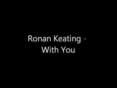 Tekst piosenki Ronan Keating - With You po polsku