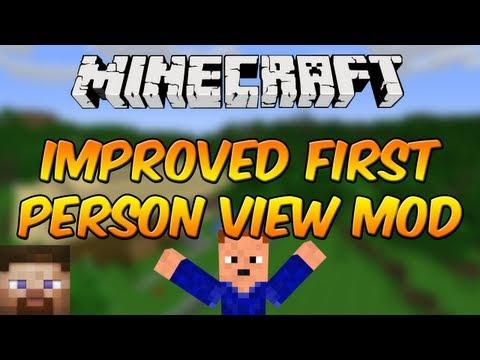 Мод Improved First Person View Mod для minecraft 1.6.4 ...