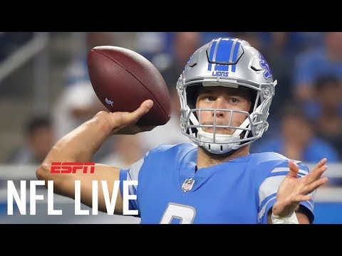 Stafford in a win-win position with Lions | NFL Live | ESPN (видео)
