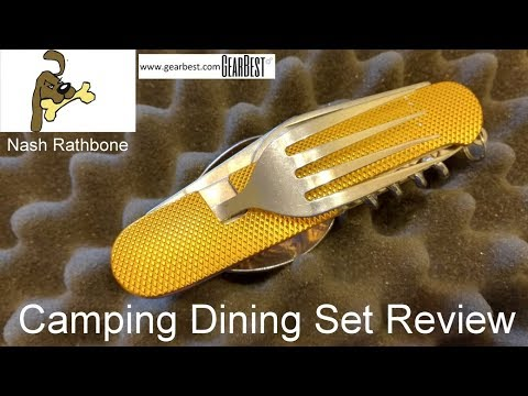 Camping Cutlery Set Review