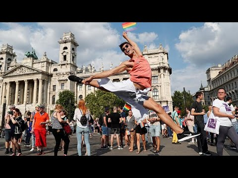 Ουγγαρία: Gay pride χωρίς παρατράγουδα