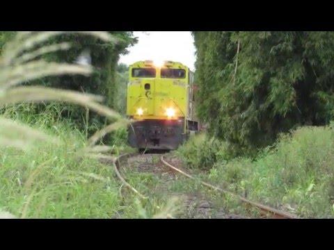 EMD SD70ACe/45 liderando trem vazio em Catanduva-SP