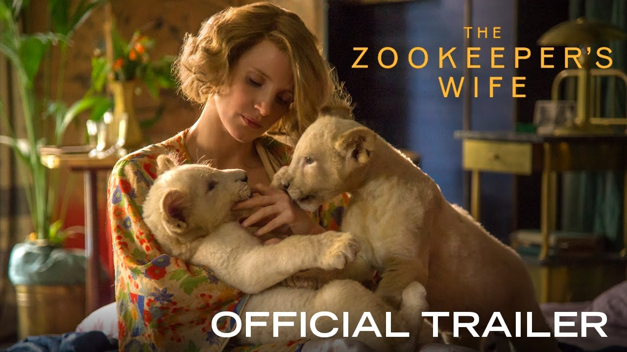 Watch Jessica Chastain Save Hundreds as 'The Zookeeper's Wife' in Holocaust Drama with Daniel Brühl
