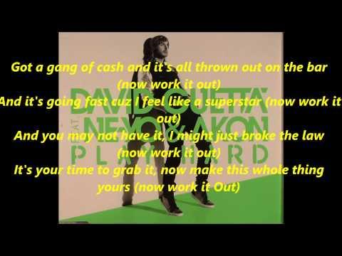 David Guetta feat. Ne-Yo - Play Hard Lyrics