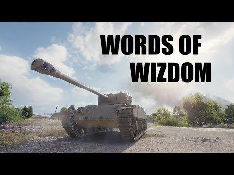 WOT - Words of Wisdom | #WorldofTanks