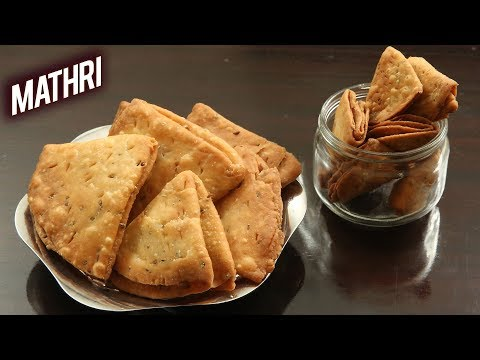 How To Make Mathri | Crispy Rajasthani Mathri Recipe | Matthi Recipe | Indian TeaTime Snacks |Ruchi