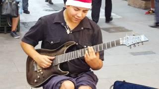Video Hôtel California, par DAMIAN SALAZAR un extraordinaire jeune guitariste de rue à Buenos Aires MP3, 3GP, MP4, WEBM, AVI, FLV Juni 2018