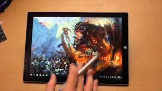 Обзор Surface 3 Pro для художников