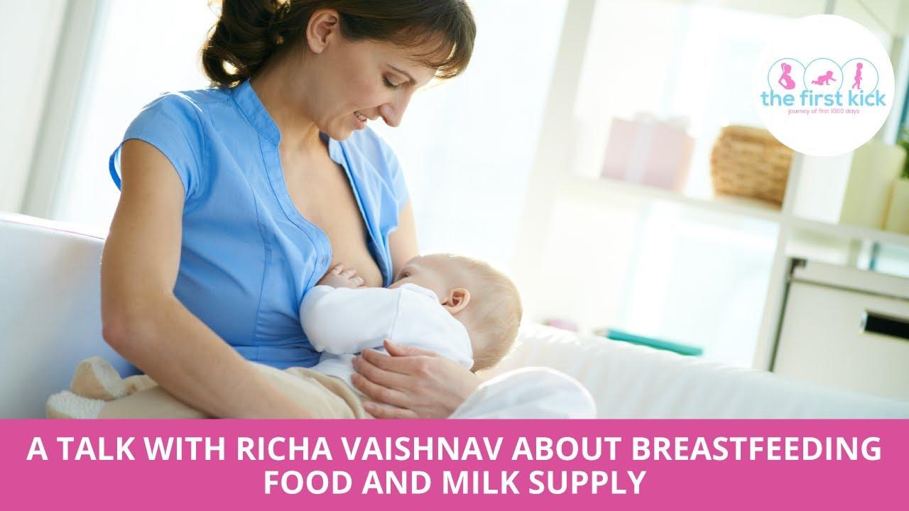 A Talk about breastfeeding food & milk supply