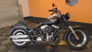 8. 044452 - 2013 Harley Davidson Softail Fat Boy FLSTFB   Special - Used motorcycles for sale