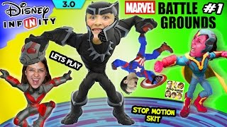 FGTEEV MARVEL BATTLEGROUNDS #1 - 4 Player Disney Infinity 3.0 Family Gameplay w/ Stop Motion Skit
