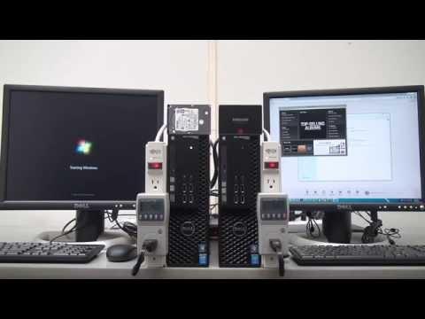 Drive Comparison: Dell Precision T1700 SFF Desktops
