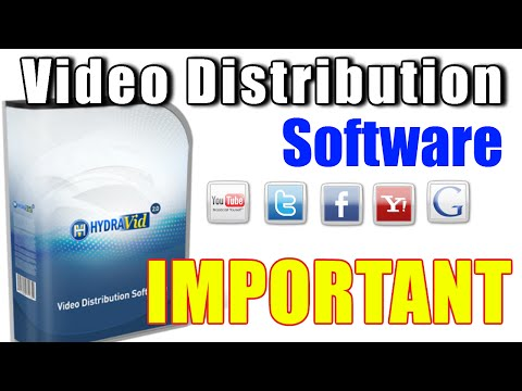 Hydravid 2.0 Software – Demontration Video Distribution Software
