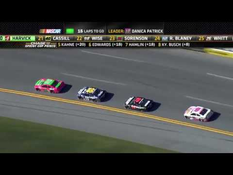 Cup - Watch the complete race from Talladega on October 19, 2014 For more NASCAR news, check out: http://www.NASCAR.com.