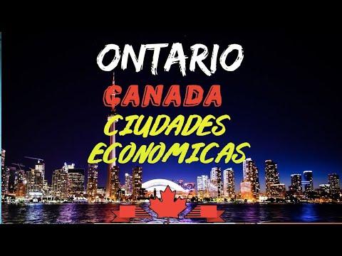 CIUDADES ECONOMICAS EN ONTARIO - CANADA