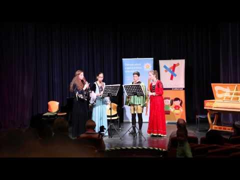 Adj teret a tehetségnek! 2013 - Az Illyés Kamara Kvartett (furulya) produkciója