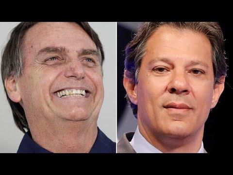Στην τελική ευθεία Μπολσονάρο και Χαντάντ στη Βραζιλία…