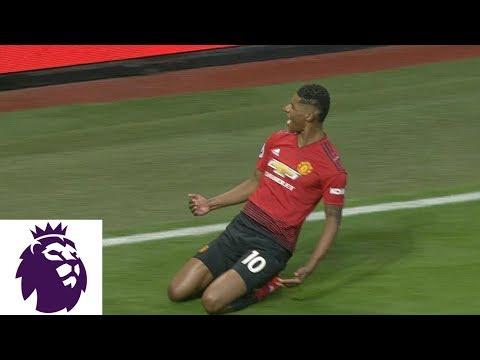 Video: Marcus Rashford's incredible goal doubles United's lead v. Brighton | Premier League | NBC Sports