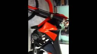 10. 2007 KTM 105sx Start Up