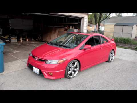 Honda civic si coupe fg2 снимок